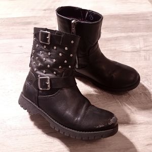 D-Signed by Disney | Girl's Black Boots size 2
